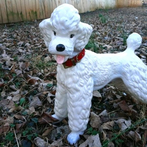 Old School Poodle Statue